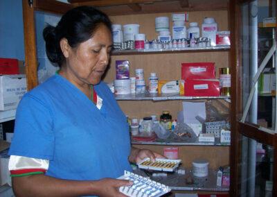 Peru, Toegankelijke gezondheidszorg voor de Quechua bevolking