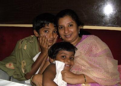 India, Nav Jeevan lepradorp en kindertehuis